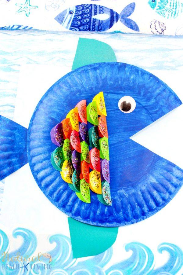 Make a paper plate Fish